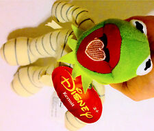 NEW! Halloween Disney The Muppets Kermit the Frog Mummy Costume Plush Doll RARE!