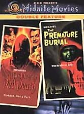 The Masque of the Red Death/Premature Burial (DVD, 2002, Widescreen Double Feat…