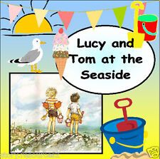LUCY AND TOM AT THE SEASIDE TOPIC Story Teaching resources for sack KS1 EYFS  cd