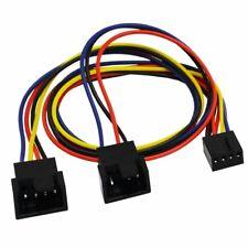 AAB Cooling C19 - Kabel Adapter 4-Pin Lüfter Y 4-Pin Splitter 2 x 3/4 Pin