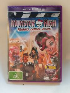 Monster High - Frights, Camera, Action! - Region 4 - Sealed / New