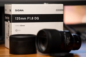 Sigma 135mm F/1.8 DGArt Lens for Sony E  [LIKE NEW]