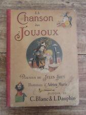 LA CHANSON DES JOUJOUX POESIES JULES JOUY ILLUSTRATIONS ADRIEN MARIE XIXème