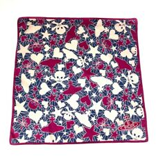 Vivienne Westwood Cotton Square/Scarf/Handkerchief/Bandana Orb Skull Heart Star