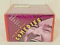 NEW, SEALED: THE GREAT RADIO COMEDIES 4 AUDIO CASSETTE TAPES 60-MINUTES ~ C13