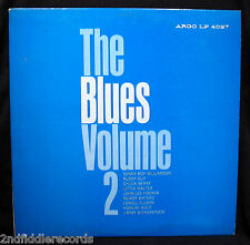 THE BLUES VOLUME 2-Rare Original Issue Blues Compilation Album-ARGO #LP 4027