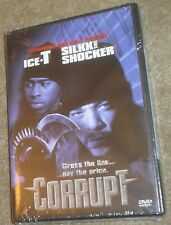 Corrupt (DVD, 1999, Millenium Series Widescreen), NEW, SEALED, STARRING ICE-T