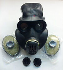 Soviet russian black gas mask PBF EO-19 size 4 XL
