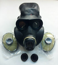 Soviet russian black rubber gas mask PBF EO-19 0 extra small