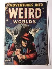 Adventures into Weird Worlds #28 (PR 0.5) Pre-Code Horror! Golden Age Comic Book