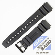 CASIO black rubber watch band for DW-290, AD-300, AW-61, 70622792