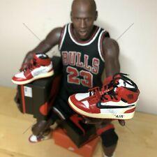 New Edition 1/6 mini 3D sneakers Nike Air Jordan 1 OFF WHITE OW