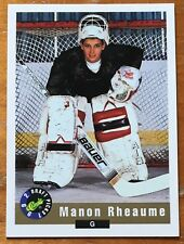 MANON RHEAUME, 1992 CLASSIC ROOKIE CARD IN EXCELLENT CONDITION !