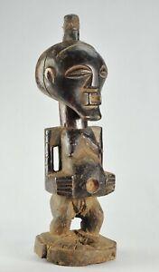 Beau Fétiche SONGYE  statue Congo Fetish African Art Tribal Africain 1339