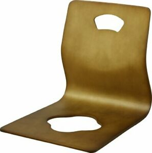 Fuji Trade Seat Chair Brown 89143 Japan Wooden Chair Japan Import Fast Shipping