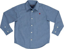 NWT Toobydoo Boys' Blue Chambray Dress Shirt ~ 5