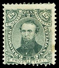 Scott RS195a 1862 2c D. Ransom Medicine Revenue on Old Paper Avg-Fine Cat $27.50