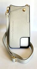 NEW Gray Leather iPhone 11 Pro MAX Crossbody Wallet Case