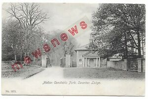 Melton Constable Park, Swanton Lodge, Norfolk 1905 Postcard