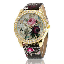 Women Watches Leather Band Analog Quartz Vogue Wristwatches Sports Casual Watch