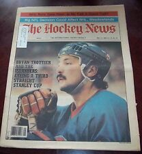 The Hockey News vol 35 no.33 may 21 1982 Bryan Trottier New York Islanders