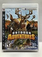 Cabela's Outdoor Adventures (Sony PlayStation 3, 2009) New Factory Sealed