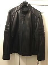 Men's Andrew Marc Motor Cycle Style Leather Jacket