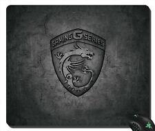 NEW mousepad REFLECTIVE MSI Gaming G Series Dragon Logo 2