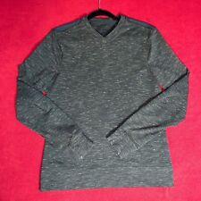 Lululemon Mens Heathered Green V Neck Ls Long Shirt Warm Top - Size Small S
