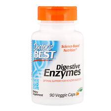 Doctor s Best Digestive Enzymes 90 Veggie Caps Gluten-Free, Vegetarian