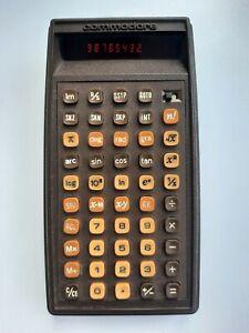 Vintage Commodore P50 Programmable Scientific Calculator Very Rare