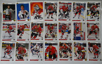 1991-92 Upper Deck UD Chicago Blackhawks Team Set of 21 Hockey Cards