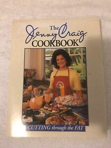 Jenny Craig Cutting Through The Fat Hard Cover Cook Book Collectable Rare