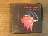 Black Sabbath Reel to Reel Tape - Paranoid - Warner Brothers WST 1887 3 3/4 IPS