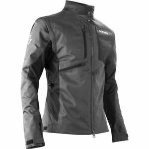 Acerbis Adults Enduro One Off Road Green Lane Motor Bike Jacket - All Grey