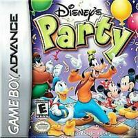 Disney's Party Game Boy Advance Game Used