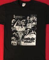 ZOMBI HOLOCAUST T shirt aka DR BUTCHER MD HORROR THAI POSTER ART Zombie S- XL