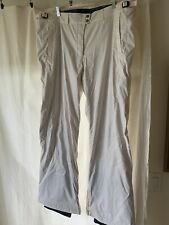 LX Woman's ski pants, Columbia, off white