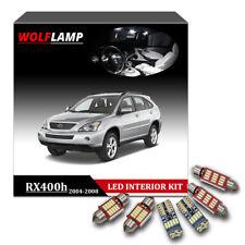 19Pcs White LED Interior Kit Car Lights For 2004-2008 Lexus RX330 RX350 RX400h