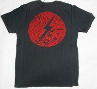 Lightning Bolt T Shirt Double Strike Cherry Tomato Retro Vintage Styled USA