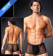 Transparenter Knack-Po Pants Short Micro Mesh Schwarz Uni in L/XL 5739