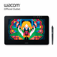"Wacom Cintiq Pro 13 13.3"" Creative Pen Display with Link Plus 1080p UDTH1320A..."