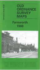 OLD ORDNANCE SURVEY MAP OPENSHAW 1933 MANCHESTER CROSS STREET BRUNSWICK STREET