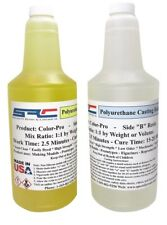 Color-Pro Clear Polyurethane Casting Resin Easy Color Match 64 oz