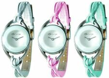 Kahuna AK015 Ladies interchangeable leather strap watch set