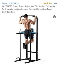 Home Gym Power Tower Pull Up Dip Station