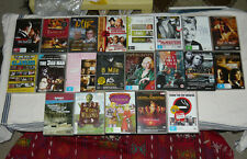 Bulk Lot of 24+ DVDs Various Foreign Language Art House TV Series Western