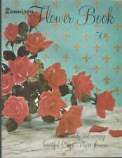Dennison Flower Book (1963) Make & Arrange Beautiful Crepe Paper Flowers ~ A695