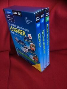 DVSA Car driving test CD/DVDs set of 3: Theory, Hazard Perception, Practical