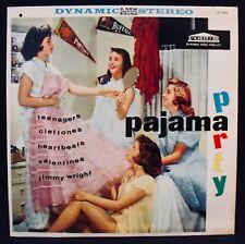 PAJAMA PARTY-Teenage Party Album-Teener Rock-Various Doo Wop Groups-FORUM #9006